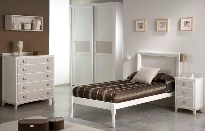 Dormitorio madera matrimonio for Liquidacion camas nido