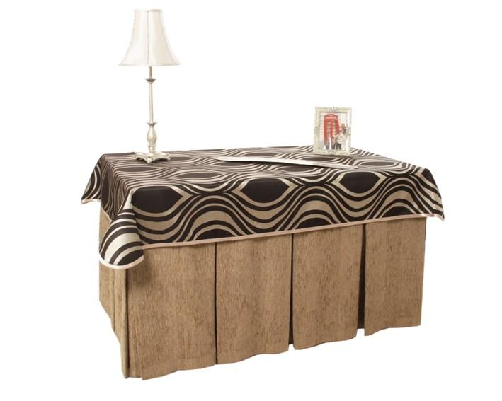 Mesa camilla completa con falda tapete tarima y cristal - Faldas mesa camilla ...