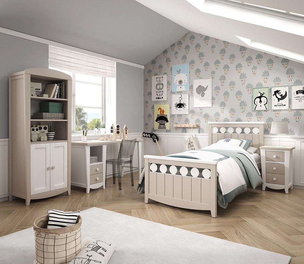 Dormitorios Juveniles De Calidad.369 01 Dormitorio Juvenil Acabado Lacados De Gran Calidad
