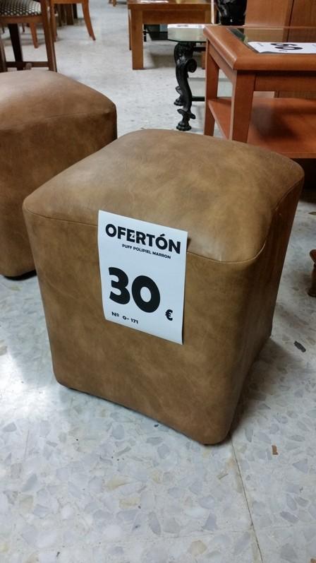 OFERTON-83 0-171 PUFF POLIPIEL (PRODUCTO SALDO)