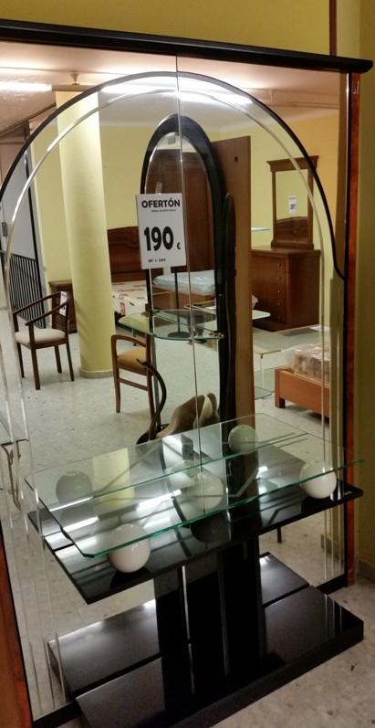 OFERTON-158 1-009 RECIBIDOR CONSOLA MURAL  (PRODUCTO SALDO)