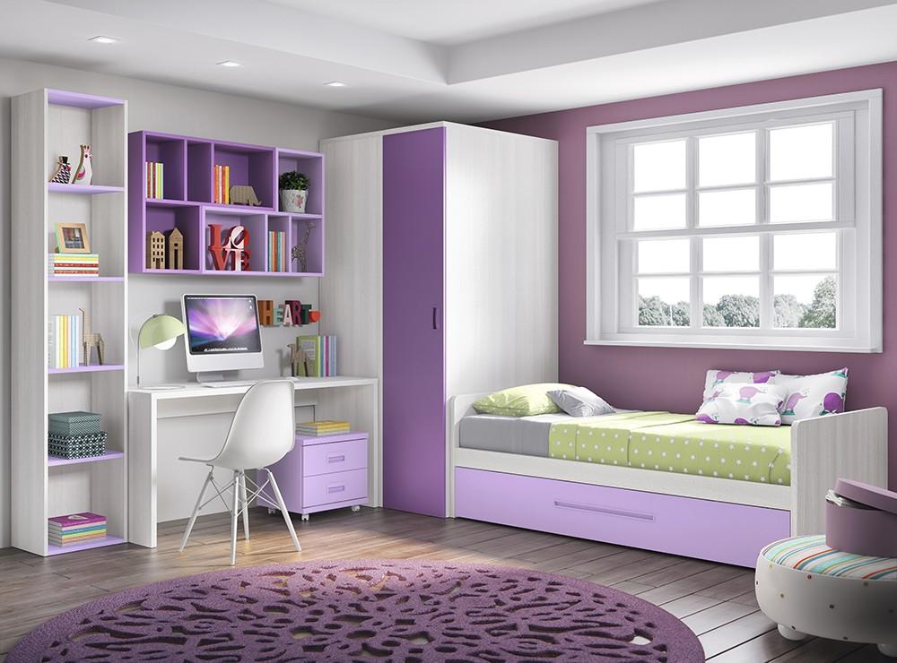 Modulares juveniles muebles for Muebles modulares juveniles